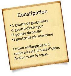 remèdes contre la constipation avec les huiles essentielles