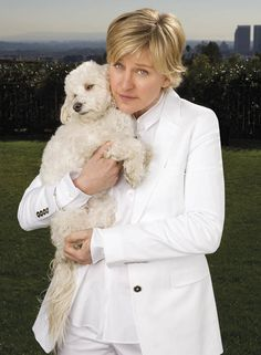 Ellen DeGeneres On Life & Dogs   Modern Dog magazine - the best dog magazine ever