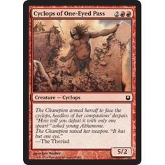 Cyclops of One-Eyed Pass (foil)