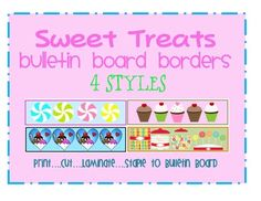 Printable Bulletin Board Border... Decorating is what makes the classroom personal, and part of that decorating includes cute bulletin board bo...