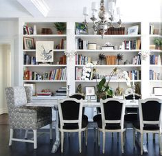 Books and dining