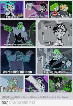 Danny Phantom was one of my favorite shows.<< I don't think a person on earth could not like Danny Phantom. Childhood Ruined, Right In The Childhood, Childhood Memories, Geeks, Cn Fanart, Fantasma Danny, Memes Arte, Randy Cunningham, Mini Comic