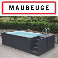 Small Backyard Pools, Small Pools, Backyard Garden Design, Bathroom Design Software, Bathroom Tile Designs, Patio Chico, Piscina Diy, Container Pool, Moderne Pools