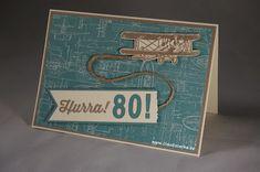 Stampin Up, Geburtstagskarte, Mann, Männer, Karte, Geburtstag, Birthday, Man,