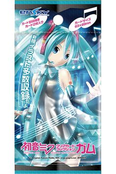 Hatsune Miku Clear Card Collection Gum [First Release Limited Edition] 16Pack BOX (CANDY TOY) (w/Initial Production Limited BOX Bonus Card)