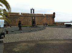 Castillo De San Jose en Arrecife, Canarias, Spain
