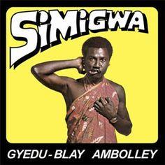 """今年1発目の初エントリーです。  ガーナのアフロ・ビートの先駆者Gyedu-Blay Ambolleyの  再発。ガーナのアフロラップ代表です。  後にSimigwa-Doというjazzyなhighlifeサウンドで一世風靡  することになるすごいmusicianです。  この口が歪んでいる意味がわかりませんし、ジャケ買いも  ナイと思いますが、内容は素晴らしいんですねぇ!  FACEBOOKページはこちらにありました。  Gyedu-Blay Ambolley  レーベルはsoundwayなので間違いナイ!  このLPが傑作なところはやっぱり""""Akoko Ba""""が収録されていることでしょう!  ベースの小刻み感、スキです。"""