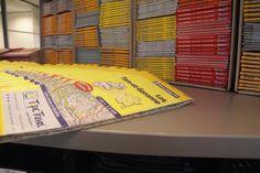 In het reisbescheidenpakket treft u gedetailleerde #Michelin #wegenkaarten.