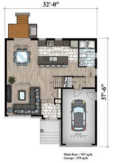 158-1318: Floor Plan Main Level