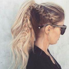 #Ponytail #Hairstyle #Hairbraid ❤