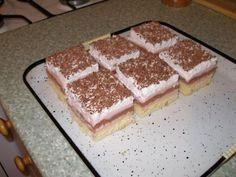 Jahodové kocky, recepty, Zákusky | Tortyodmamy.sk