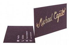 foil-business-cards_1222 Foil Business Cards, Spot Uv, Letterpress Printing, Foil Stamping, Gold Foil, Peppermint, Print Design, Personalized Items, Metal