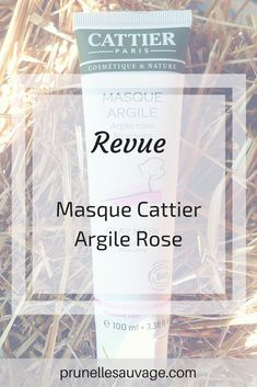 Le masque à l'argile rose de Cattier : une petite douceur pour apaiser les rougeurs #BLOG #beaute #skincare #cattier #bio #prunellesauvage