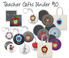 teacher gifts under $10 personalized