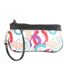 Look Here! Coach Fashion In Signature Medium Multicolor Wristlets CGI Outlet Online