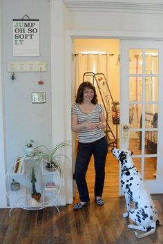 Emily & Pippa's Fountain Square Home — House Tour | Apartment Therapy