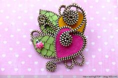 ** Zipper Brooch Jewelry @maoxianling570811