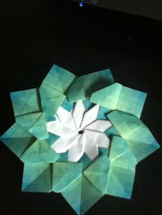 129 best flat origami flowers images on pinterest in 2018 origami mandala milanez sheri izen flat origami flowers mightylinksfo