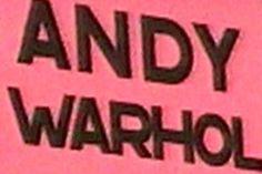 Andy Warhol - kaikki on hyvää | Elävä arkisto | yle.fi