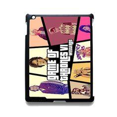 Game Of Thrones Gta TATUM-4550 Apple Phonecase Cover For Ipad 2/3/4, Ipad Mini 2/3/4, Ipad Air, Ipad Air 2
