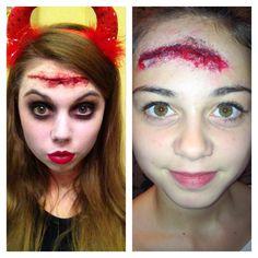 Head cuts, MUA Chloe Palser