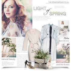 A fashion look from May 2016 by thewondersoffashion featuring 'S MaxMara, Rochas, Malone Souliers, Gucci e L'Occitane