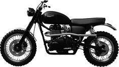 Hammarhead Motorcycles ($9,500-$18,500) are affordable, hand-built, rugged rides. Available in three models — the Royal Enfield Electra X-based Woodsman, the Triumph Scrambler-based Jack Pine (pictured), and the Royal Enfield Bullet-based Volta