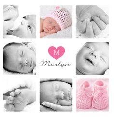 Strak geboortekaartje met vlakken en eigen foto Gebruik deze kaart en maak hiervan zelf je eigen persoonlijke geboortekaartje. Wil je de kaart door ons laten opmaken? Geen probleem, wij helpen je graag!