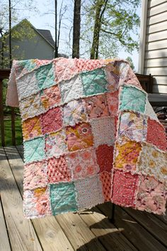 Crib Rag Quilt