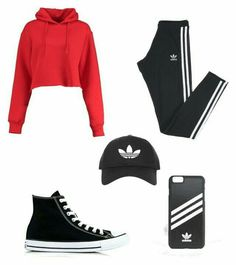 Adidas, boohoo, adidas originals, topshop and converse lazy outfits, outfit Cute Swag Outfits, Cute Comfy Outfits, Lazy Outfits, Cute Outfits For School, Sporty Outfits, Mode Outfits, Dance Outfits, Outfits For Teens, Stylish Outfits