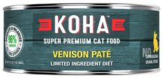 VENISON PATE' | KOHA Limited ingredient Potato free, Grain free