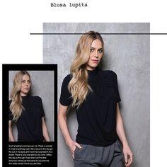 Acabou de chegar Blusa Lupita. Perfeita pro dia de hoje. 😃 R$ 294,00. Peça sua malinha em SP. Entregamos em todo 🇧🇷🇧🇷🇧🇷#ternodısola #casualday #moda #modafeminina #top