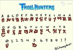 Silouette Cameo Projects, Fictional Languages, Trollhunters Characters, Alphabet Symbols, Found Out, Dreamworks, Film, Coding, Letters