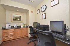 Business Center #ComfortInn #Business