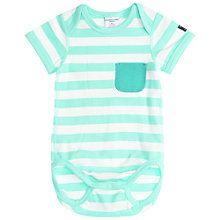 Buy Polarn O. Pyret Baby Striped Bodysuit Online at johnlewis.com