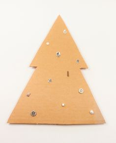 Oh Christmas Tree, Oh Christmas Tree! Sweet sterling silver studs from Hanne Andersen Jewellery