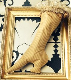 Opulent and grown up Christmas stocking