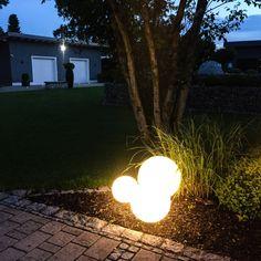New SKAPETZE Globe Garten Kugelleuchte cm Aussenleuchten Dekoleuchten Aussen