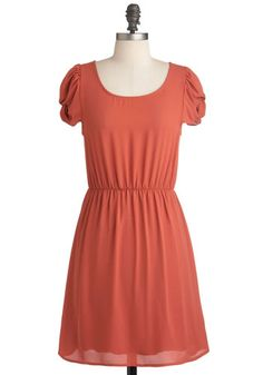 Paprika in Your Step Dress, #ModCloth