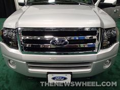 Ford was alright a highlight of the SEMA Show and something that was a big hit with the crowd was the custom Ford Expeditions. Three different versions