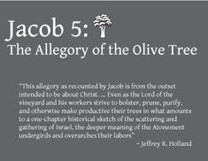 { Mormon Share } Jacob 5 Allegory of the Olive Tree Study Booklet