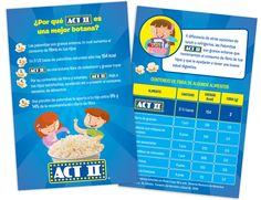 Diseño publicitario/editorial - Stop Diseño Gráfico - Diseño de Flyer Act II - ConAgra Foods