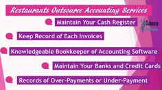 Providing #Outsourcing #Bookkeeping to #Restaurants #Companies with #affordable price.