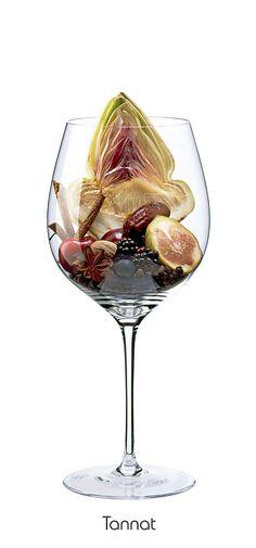 TANNAT  Blackberry, date, fig, blueberry, cherry, plum, anise, nutmeg, black pepper, artichoke, licorice
