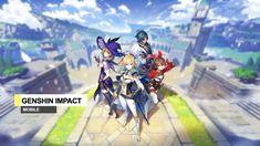 Genshin Impact merupakan game RPG yang bergenre open-world yang lagi banyak dimainkan, Game ini bisa dimainkan di ponsel Android dan iOS, PlayStation 4 Game Mobile, Review Games, Princess Zelda, World, Fictional Characters, Rpg, The World, Fantasy Characters