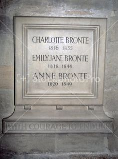 Brontë Memorial, Poet's Corner, Westminster Abbey Charlotte Bronte, Bronte Sisters, Famous Graves, Momento Mori, Cemetery Art, Westminster Abbey, London Calling, British History, Great Britain