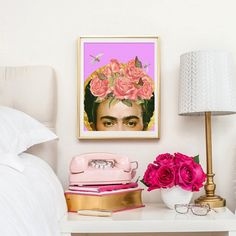 """""""Frida Kahlo Collage"""" by Artistic Side Of Life. 