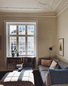 Copenhagen apartment - scandinavian style / interior / livingroom inspo
