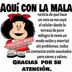 Funny memes chistes thoughts 42 ideas for 2019 Funny Spanish Jokes, Spanish Humor, Spanish Quotes, Jenny Rivera Quotes, Mafalda Quotes, Funny Note, Funny Picture Jokes, Funny Stuff, Funny Greetings