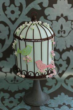 Song bird cake!